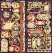 Fruit & Flora Stickers - Graphic 45