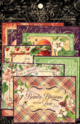 Fruit & Flora Ephemera & Journaling Cards - Graphic 45