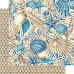 Belize Paper - Ocean Blue - Graphic 45