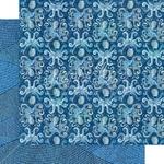 Kauai Paper - Ocean Blue - Graphic 45 - PRE ORDER