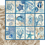 Cozumel Paper - Ocean Blue - Graphic 45 - PRE ORDER