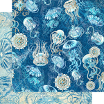 Fiji Paper - Ocean Blue - Graphic 45 - PRE ORDER