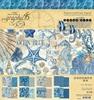 Ocean Blue 8x8 Pad - Graphic 45