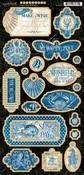 Ocean Blue Chipboard - Graphic 45 - PRE ORDER