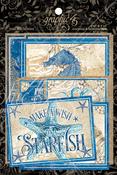 Ocean Blue Ephemera & Journaling Cards - Graphic 45 - PRE ORDER