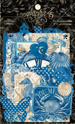 Ocean Blue Die-cut Assortment - Graphic 45