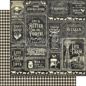 General Store Paper - Farmhouse - Graphic 45