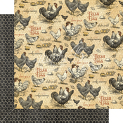 Locally Grown Paper - Farmhouse - Graphic 45