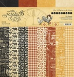 Farmhouse 12x12 Patterns & Solid Pad - Graphic 45 - PRE ORDER