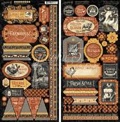 Farmhouse Stickers - Graphic 45 - PRE ORDER