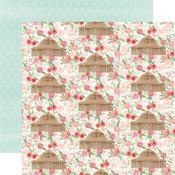 Barn Floral Paper - Farmhouse Market - Carta Bella