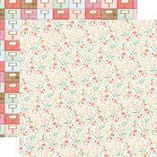 Antique Floral Paper - Farmhouse Market - Carta Bella