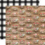 Baskets Paper - Farmhouse Market - Carta Bella