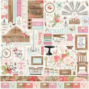 Farmhouse Market Elements Stickers - Carta Bella