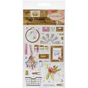 Farmhouse Market Puffy Stickers - Carta Bella