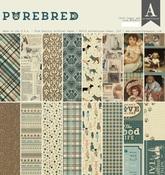 Purebred 12 x 12 Paper Pad - Authentique