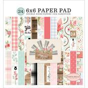 "Farmhouse Market 6""X6"" Paper Pad - Carta Bella"