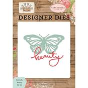 Butterfly Beauty Dies - Farmhouse Market - Carta Bella