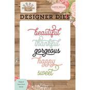 Happy & Sweet Dies - Farmhouse Market - Carta Bella