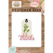 Thanks Tag Dies - Farmhouse Market - Carta Bella
