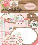 Farmhouse Market Frames & Tags Ephemera - Carta Bella