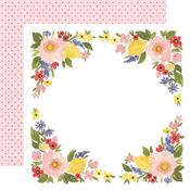 Bloom Border Paper - Oh Happy Day Spring - Carta Bella
