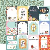 Tags Paper - Oh Happy Day Spring - Carta Bella