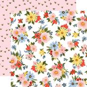 Lovely Floral Paper - Oh Happy Day Spring - Carta Bella