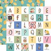 Happy Alphabet Paper - Oh Happy Day Spring - Carta Bella