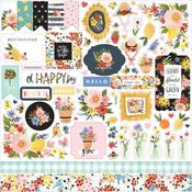 Oh Happy Day Spring Element Stickers - Carta Bella