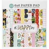 "Oh Happy Day Spring 6""X6"" Paper Pad - Carta Bella"