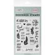 Happy Happy Day Stamp Set - Oh Happy Day Spring - Carta Bella