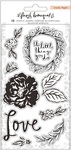 Fresh Bouquet Acrylic Stamps - Crate Paper