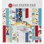 "Family Night 6""X6"" Paper Pad  - Carta Bella"