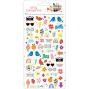 Picnic In The Park Icon Mini Puffy Stickers - Amy Tangerine - PRE ORDER