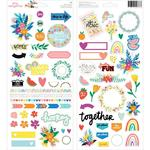 Amy Tan Picnic In The Park Cardstock Stickers - PRE ORDER