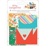 Amy Tan Picnic In The Park Envelope Stickers - PRE ORDER