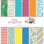 Picnic In The Park 12 x12 Single-Sided Paper Pad - Amy Tangerine - PRE ORDER