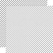 White Paper - Dots & Stripes - Echo Park
