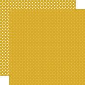 Mustard Paper - Dots & Stripes - Echo Park