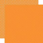 Orange Paper - Dots & Stripes - Echo Park
