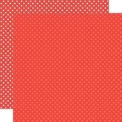 Red Paper - Dots & Stripes - Echo Park