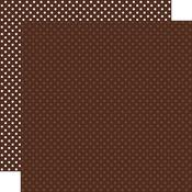 Brown Paper - Dots & Stripes - Echo Park