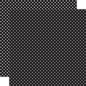 Black Paper - Dots & Stripes - Echo Park - PRE ORDER