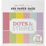 Spring 6x6 Paper Pad - Dots & Stripes - Echo Park - PRE ORDER