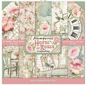 House Of Roses 8 x 8 Paper Pack - Stamperia