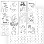 Color Me Paper - Camp Happy Bear - Photoplay
