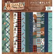 "Camp Happy Bear 6""X6"" Paper Pad - Paper Pad"