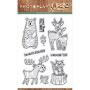 Camp Happy Bear Stamp - Photoplay - PRE ORDER