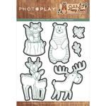 Camp Happy Bear Etched Die - Photoplay